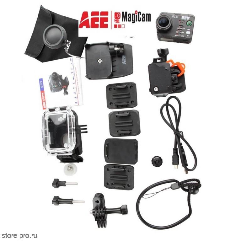 Комплектация экшн камеры AEE MagiCam S70