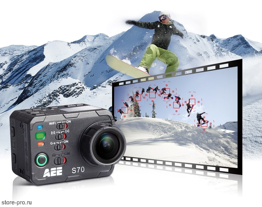 Серийная съёмка AEE MagiCam S70