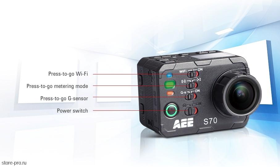 Отзывы Экшн камера AEE MagiCam S70