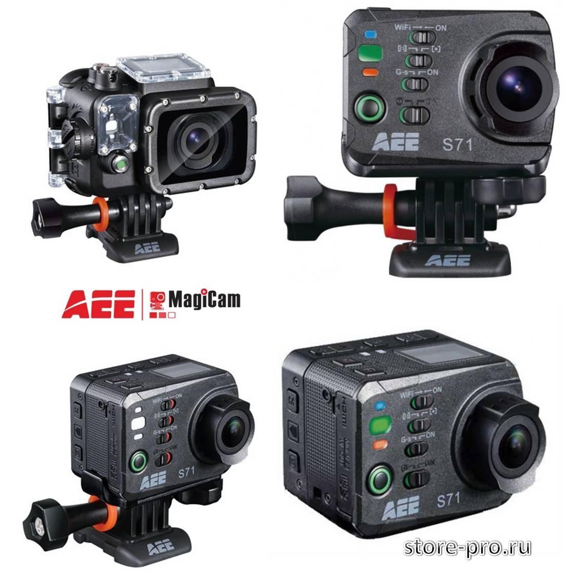 Обзор, характеристика экшен камеры AEE MagiCam S71