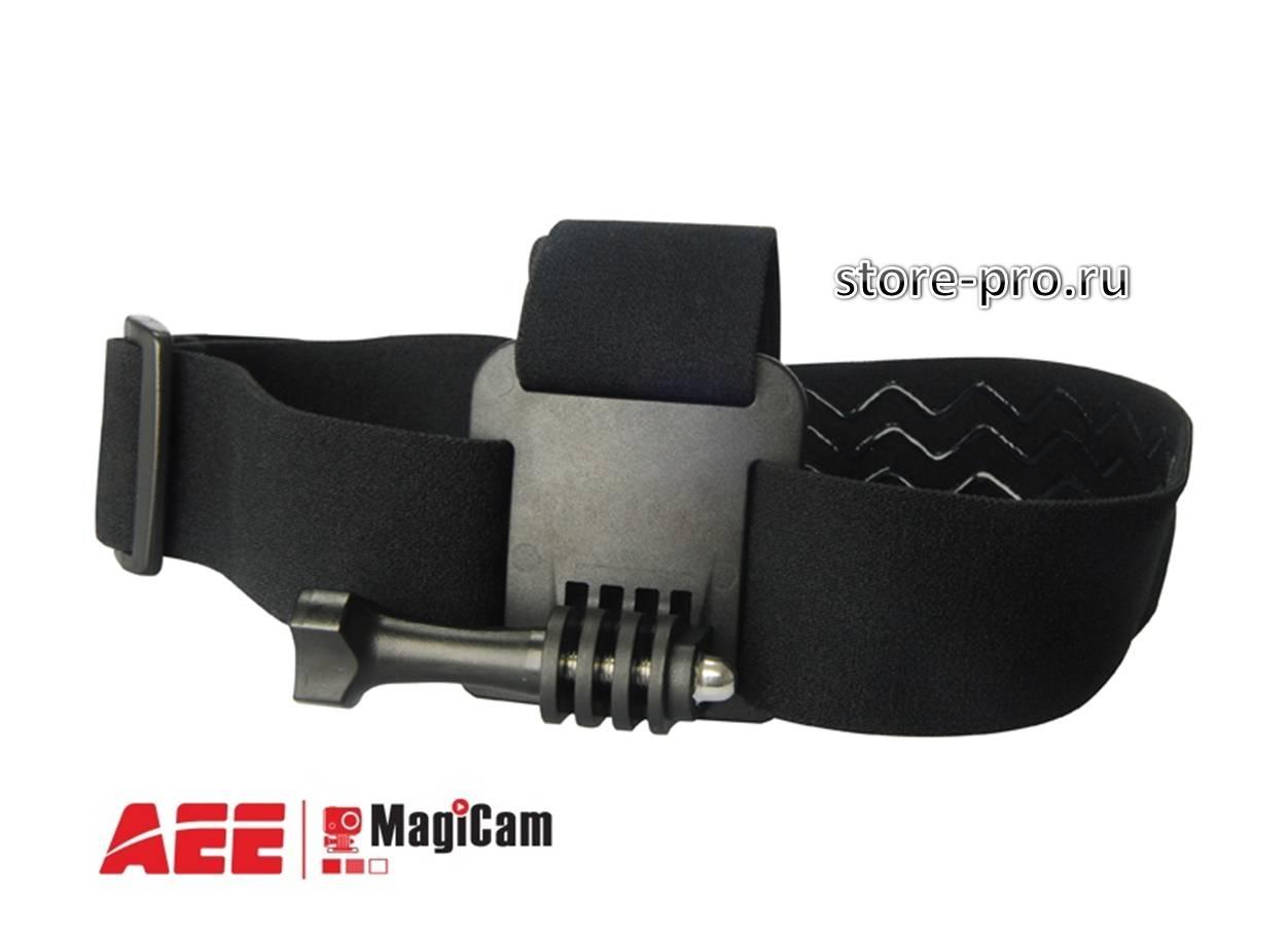 Купить крепление на голову Head Strap Mount для камеры AEE Цена