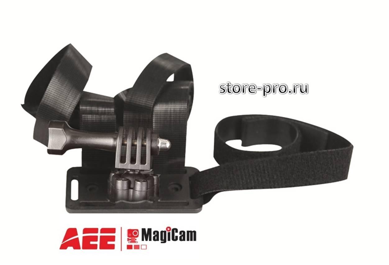 Купить крепление с ремнями Big strap mount для камеры AEE цена