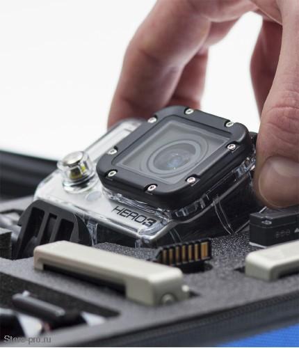 Кейс средний SP POV Case XS для хранения - переноски камеры GoPro, Аксессуаров и Креплений