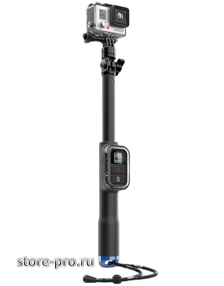 Купить Монопод SP Gadgets Remote Pole 39 с креплением для пульта GoPro цена, доставка
