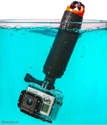 Купить поплавок для камеры Gopro, Sjcam, Xiaomi доставка