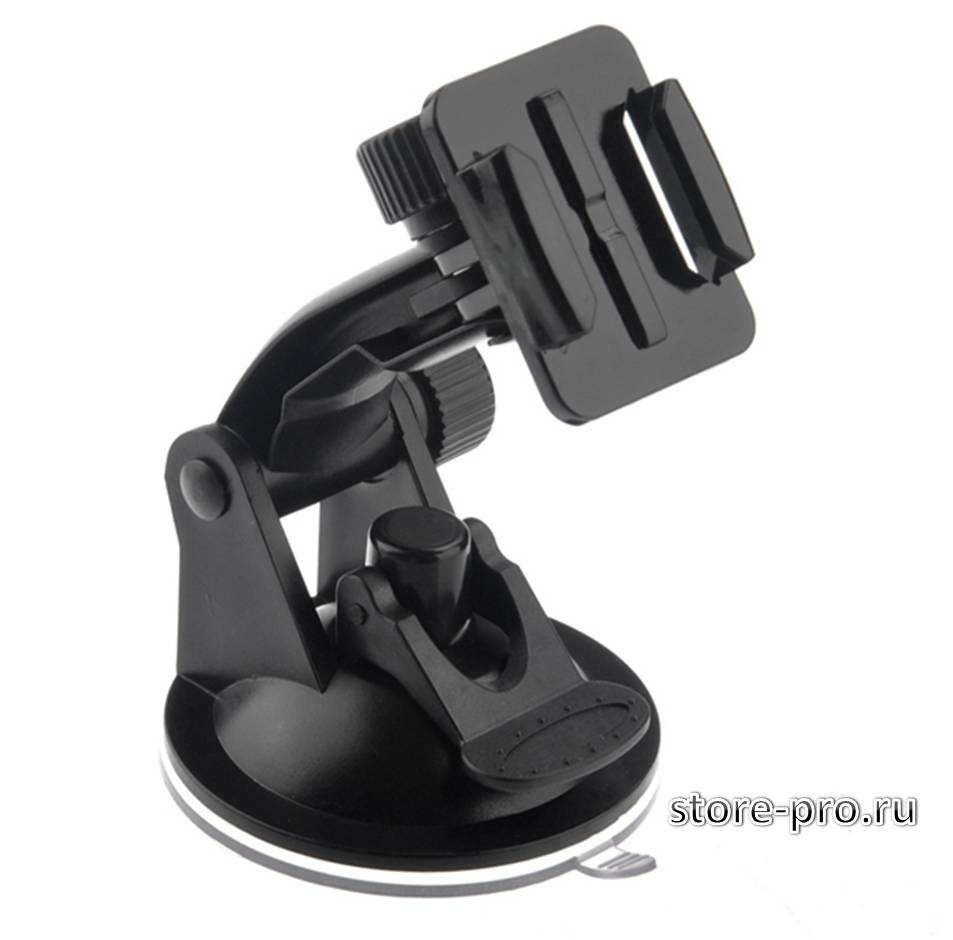 Купить крепление присоска для GoPro, Sjcam, Xiaomi Suction Cup цена