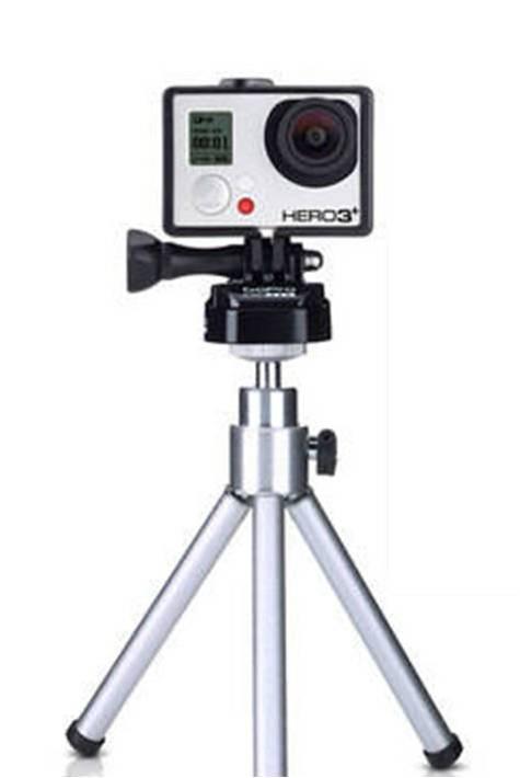 Быстросъёмный переходник на штатив для GoPro, Sjcam, Xiaomi. Купить
