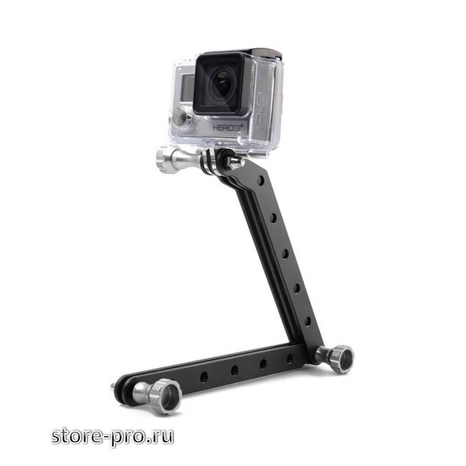 Купить алюминиевый удлинитель 30см для камеры Gopro