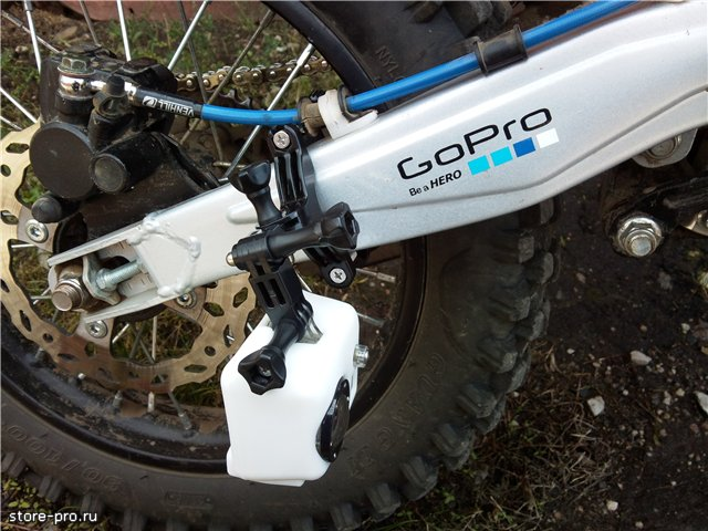 Комплект креплений GoPro Roll Bar Mount