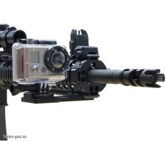 Купить крепление на оружие сбоку для Gopro, Sjcam, Xiaomi цена