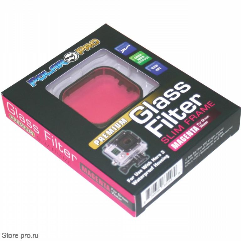 Обзор пурпурного фильтра для GoPro HERO3