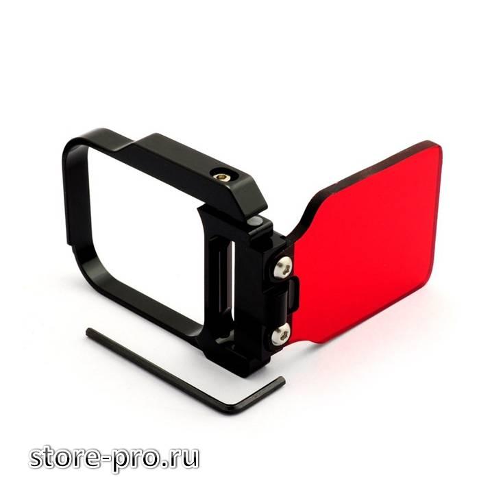 Купить расный фильтр для GoPro HERO3 стекло отзывы