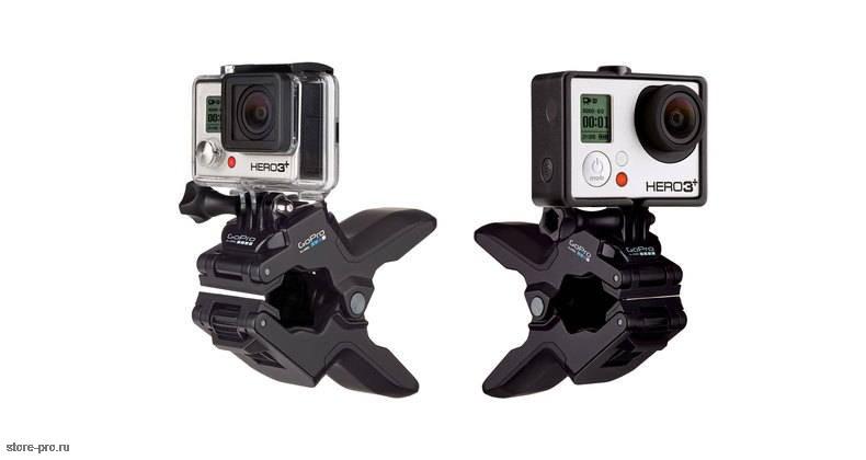 Крепление - зажим Челюсти GoPro Jaws: Flex Clamp