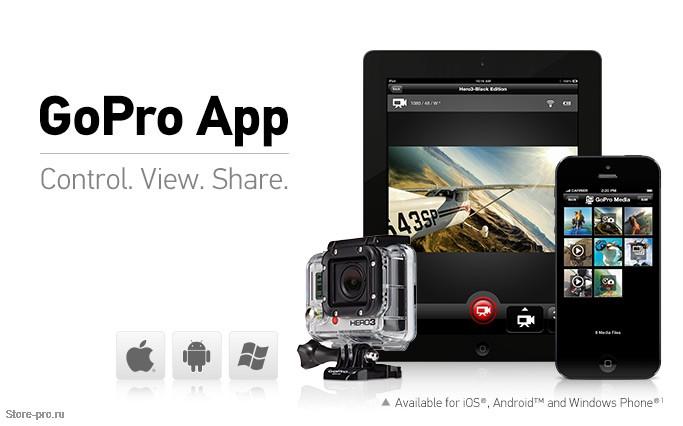 Обновление приложения GoPro App