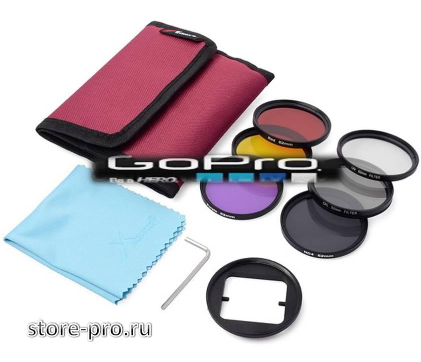 Купить набор из 6 фильтров для GoPro HERO3