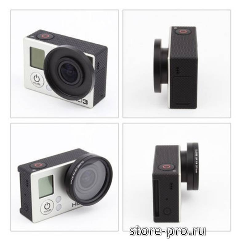 Купить защитный UV фильтр на объектив камеры Gopro цена