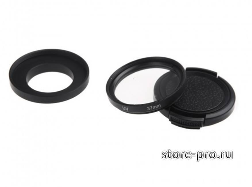 Комплект защитного UV фильтр на объектив камеры Gopro купить