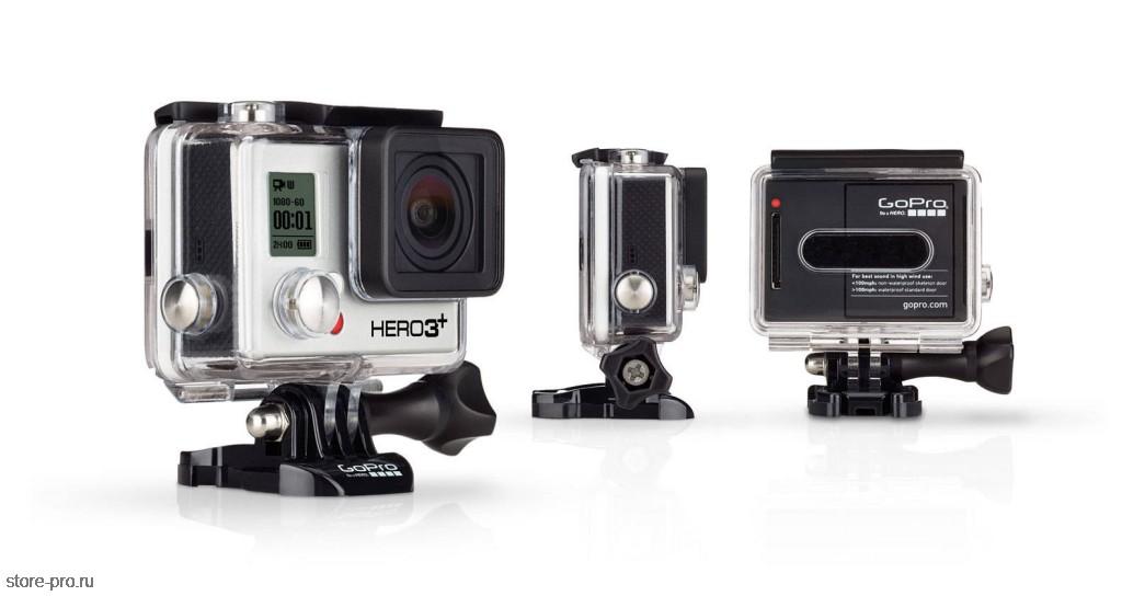 Купить новинку экшен камера GoPro HD HERO3+