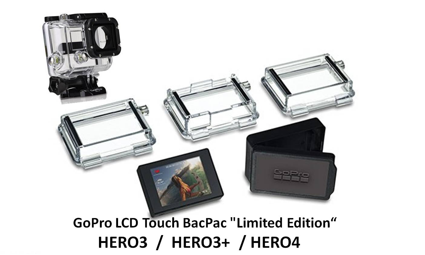 Комплектация LCD Touch BacPac Limited Edition для камеры GoPro HERO3+ / HERO4