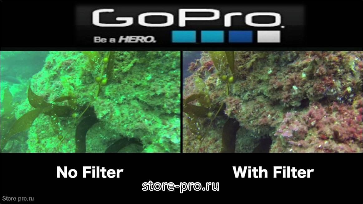 Красный фильтр для GoPro HERO4 купить