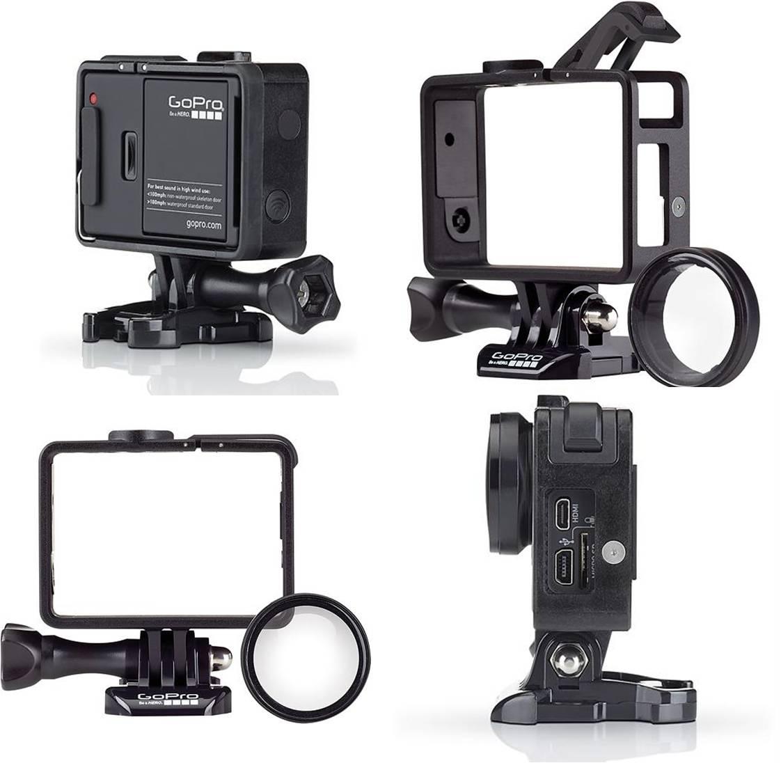 Купить улучшенное самое маленькое и лёгкое крепление для камеры GoPro HERO 4 / HERO3+ / HERO3 Цена, обзор, отзывы