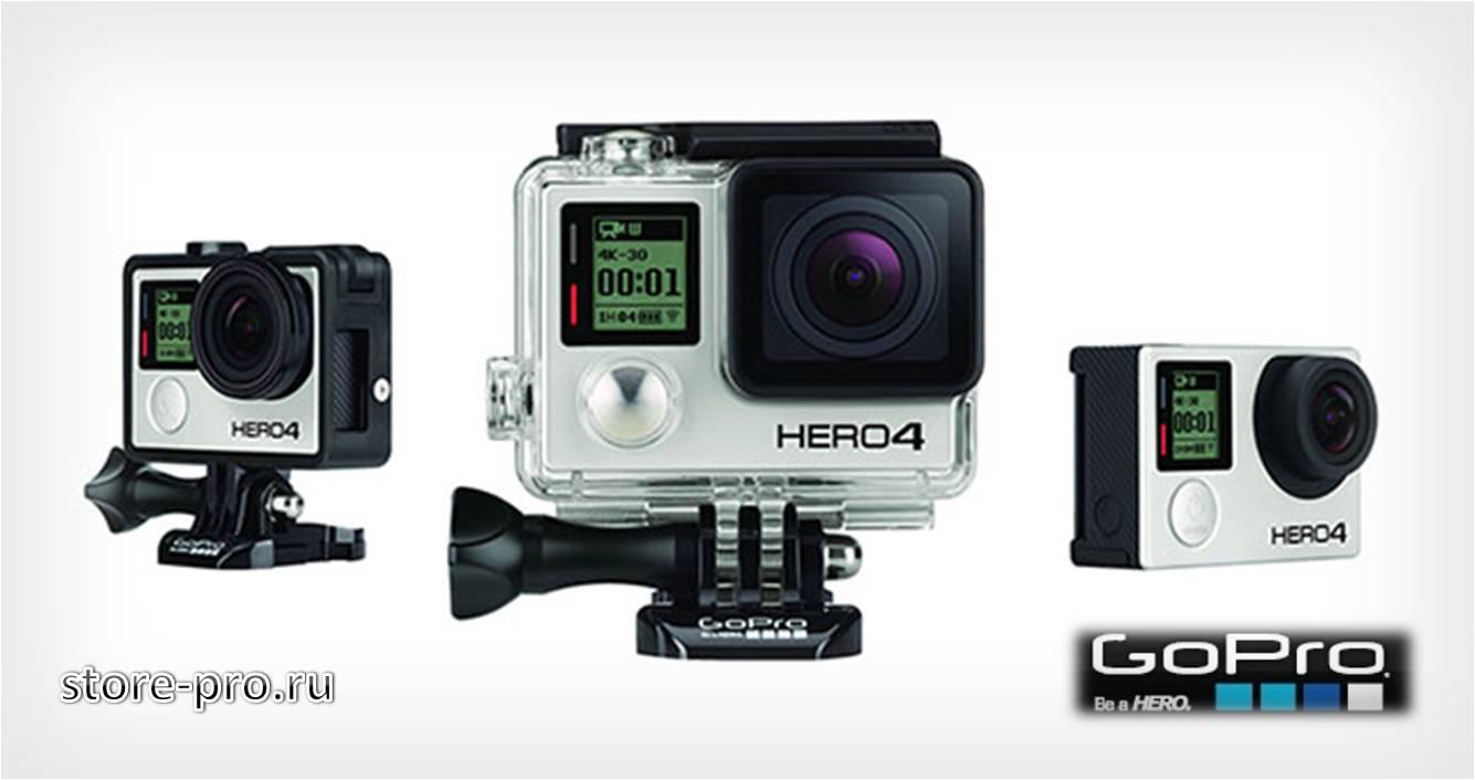Дата выхода новой камеры GoPro HERO4 Black Edition