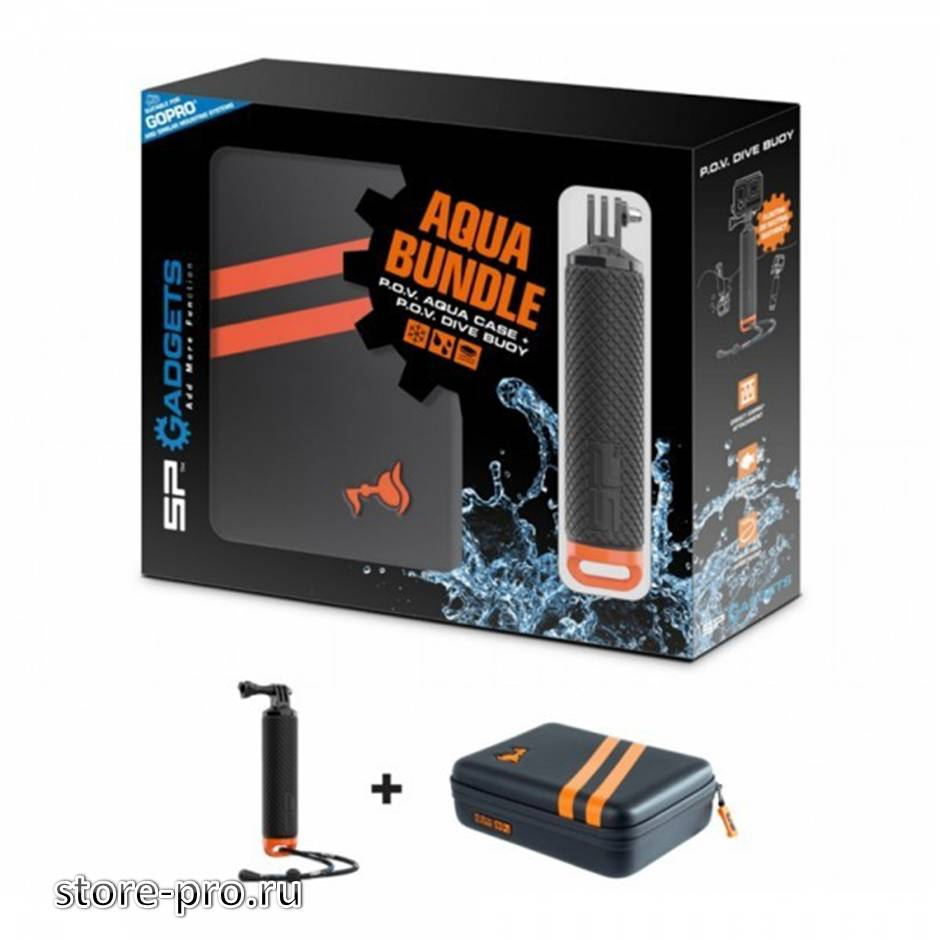 Купить набор SP Gadgets Aqua Bundle водонепроницаемый кейс + рукоятка - поплавок цена
