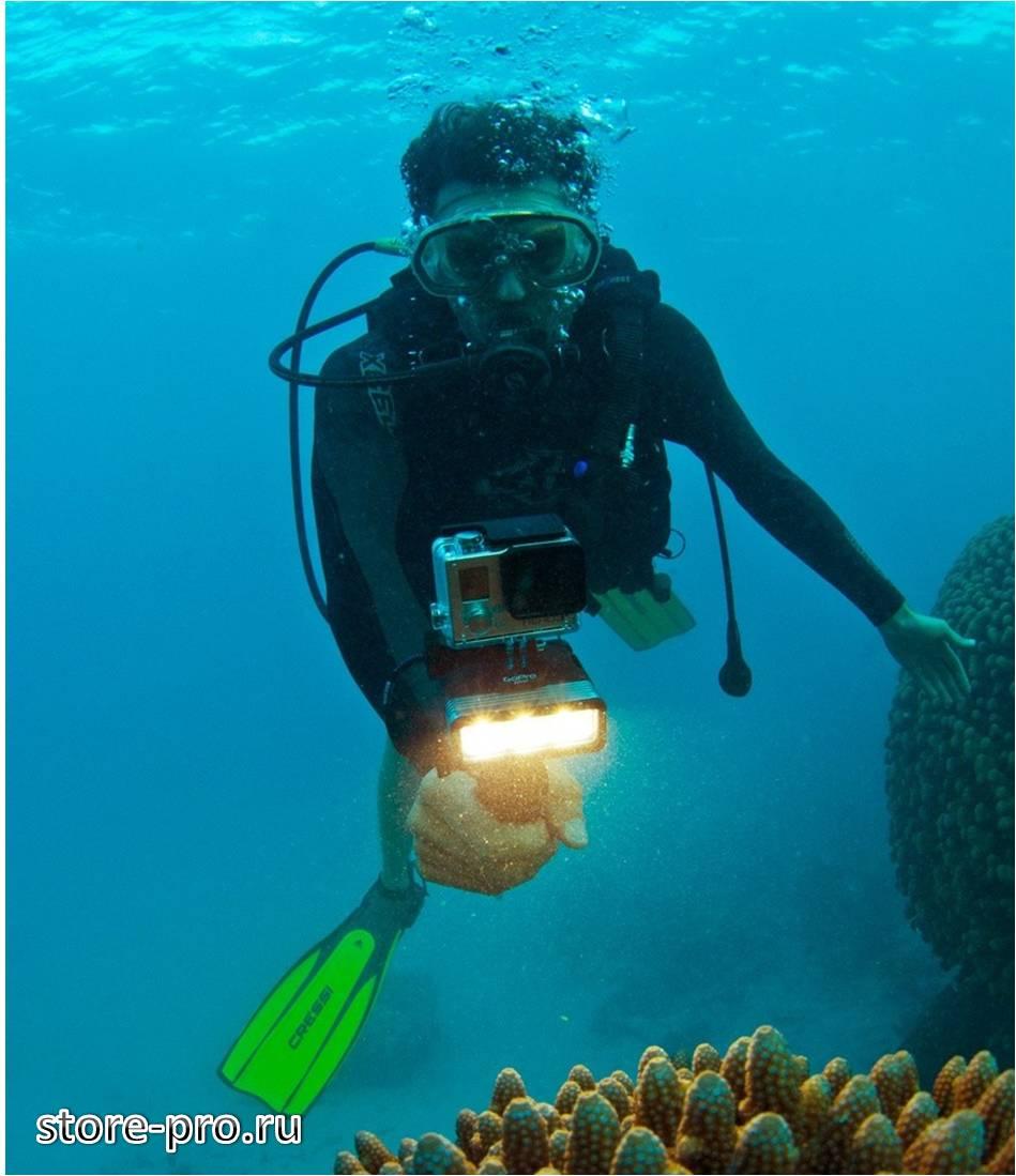 Подводный фонарь SP Gadget POV LIGHT 2.0 для Gopro купить, отзывы