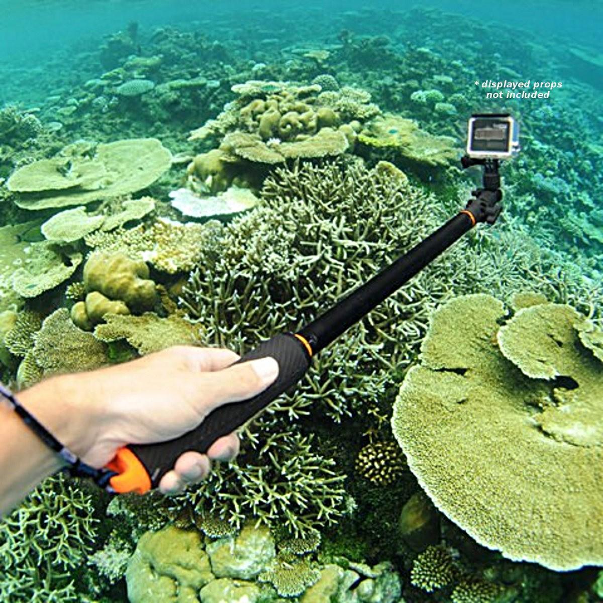 Подводный монопод поплавок SP Section Pole Set для GoPro купить цена