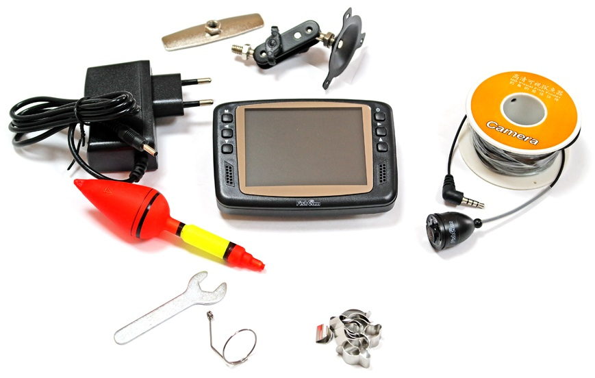 Комплектация подводной камеры для рыбалки FishCam 501, Цена