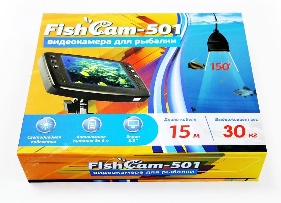 Подводная камера для рыбалки FishCam 501 купить