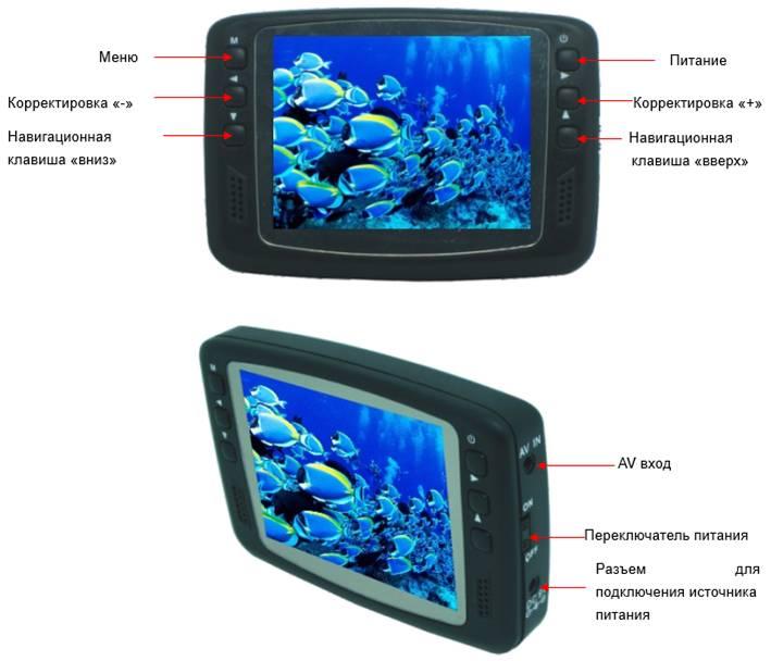 FishCam 501 Универсальная камера для подводной зимний рыбалки купить