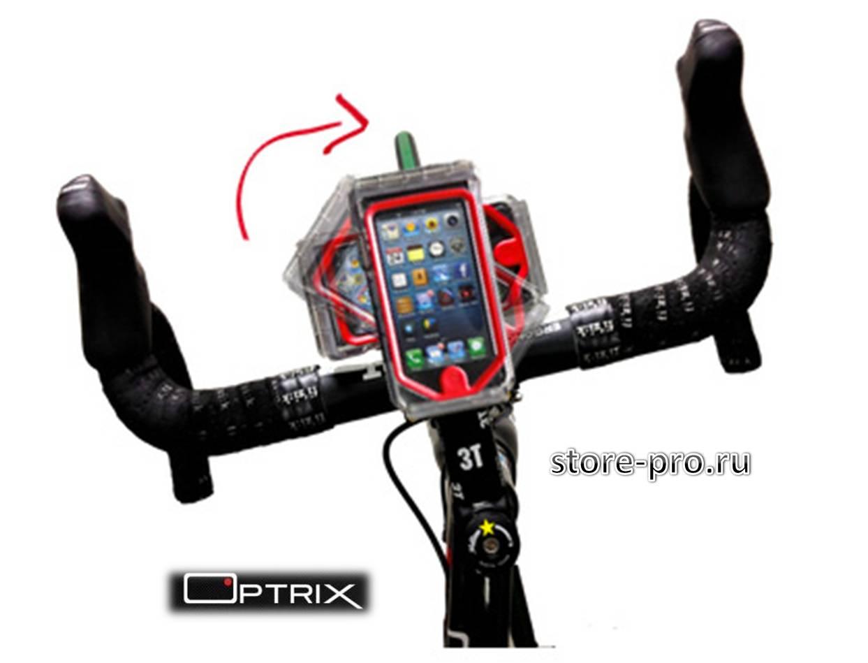 Optrix CycleX - ударопрочный чехол - кейс для iPhone 5/5S со специальной мембраной для сенсорного управления экрана
