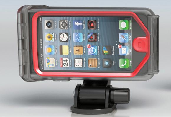 Водонепроницаемый ударопрочный чехол для iPhone 5 / 5S Optrix XD5