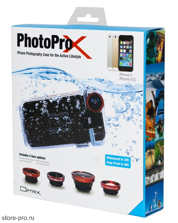 Купить Optrix PhotoProX чехол для iPhone 5 / 5S сейчас!