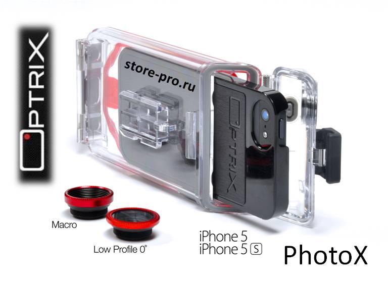 Купить Optrix PhotoX чехол для iPhone 5 / 5S цена